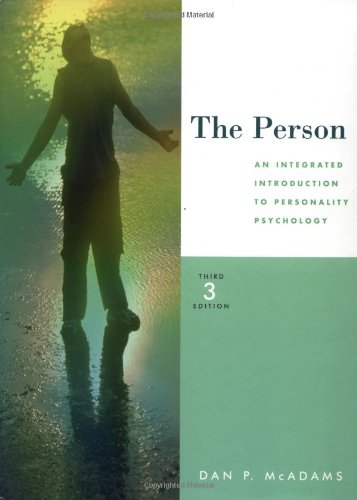 9780470001776: The Person - an Integrated Introduction to Personal Psychology 3e (Wse)