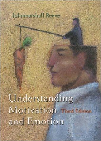 9780470001943: Understanding Motivation and Emotion