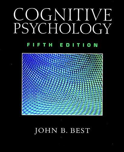 9780470002322: Cognitive Psychology
