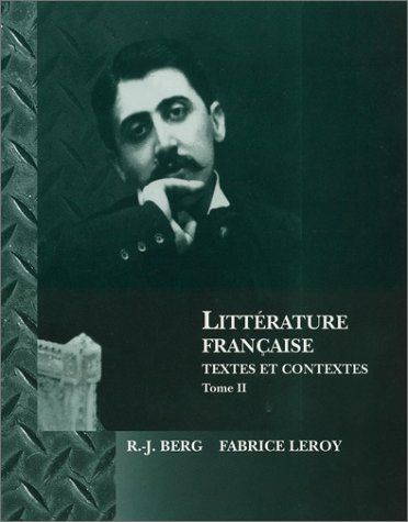 9780470002926: Litterature Francaise: Textes et Contextes (French Edition)