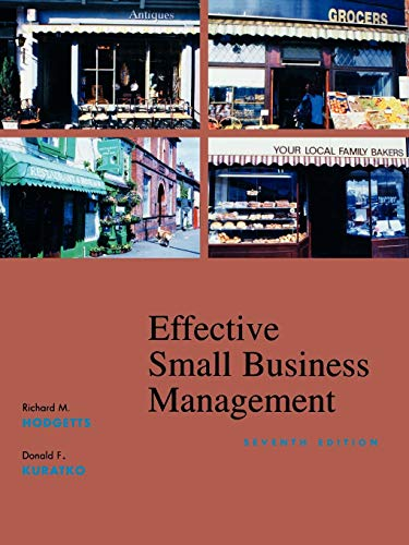 9780470003435: Effective Small Business Management