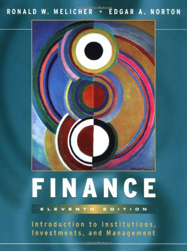 9780470004463: Finance: Introduction to Institutions, Investments, and Management