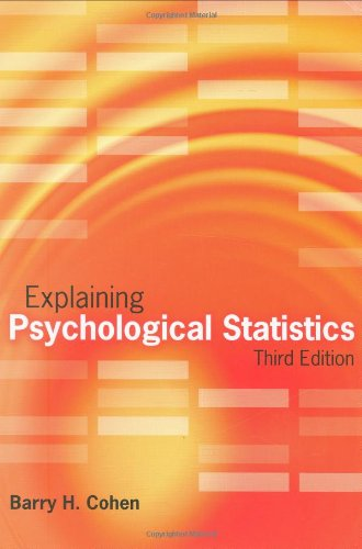 9780470007181: Explaining Psychological Statistics, 3rd Edition