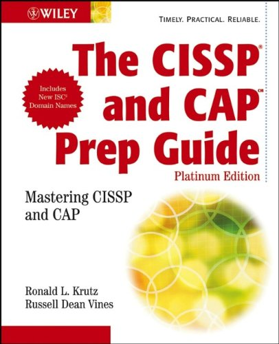 9780470007921: The CISSP and CAP Prep Guide: Platinum Edition