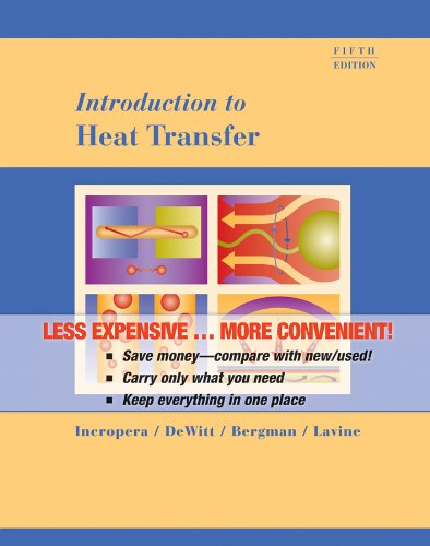 9780470008164: (WCS)Introduction to Heat Transfer 5th Edition Binder Ready without Binder
