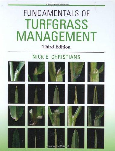 9780470008409: Fundamentals of Turfgrass Management