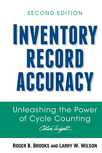 9780470008607: Inventory Record Accuracy: Unleashing the Power of Cycle Counting