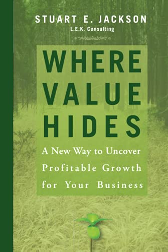 9780470009208: Where Value Hides: A New Way to Uncover Profitable Growth for Your Business