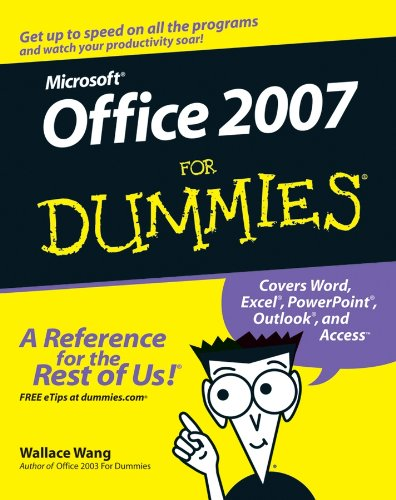 9780470009239: Microsoft Office 2007 For Dummies