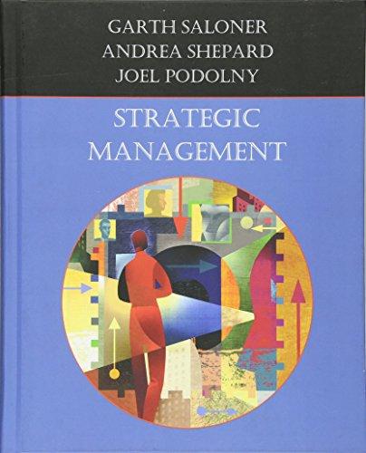 9780470009475: Strategic Management