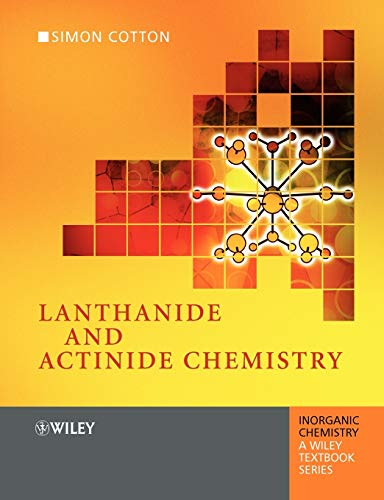 9780470010068: Lanthanide and Actinide Chemistry