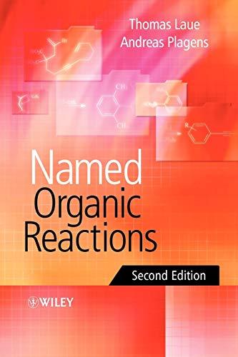 9780470010419: Named Organic Reactions 2e