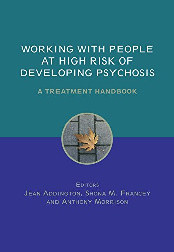 9780470011621: Working with People at High Risk of Developing Psychosis: A Treatment Handbook