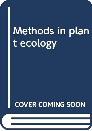 Methods in Plant Ecology: Chapman, S.B.
