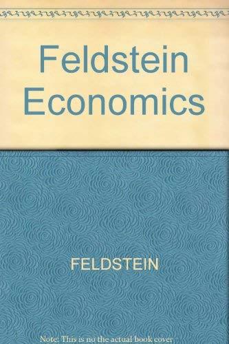 9780470013748: Feldstein Economics (International Economic Association publications)