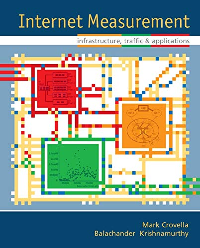 9780470014615: Internet Measurement: Infrastructure, Traffic And Applications