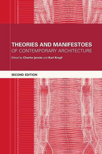 9780470014691: Theories and Manifestoes of Contemporary Architecture