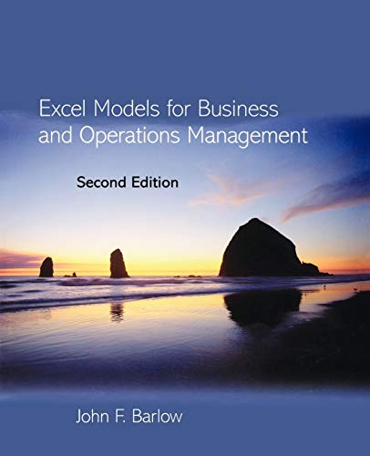 9780470015094: Excel Models for Business and Operations Management