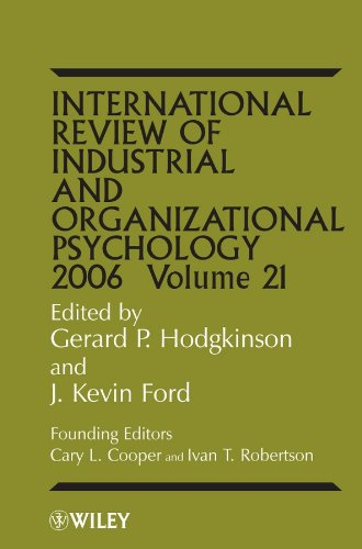 9780470016060: International Review of Industrial and Organizational Psychology, 2006 Volume 21