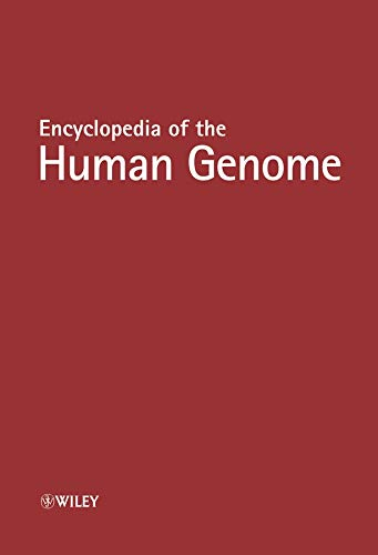 9780470016183: Encyclopedia of the Human Genome, 5 Volume Set (Nature Encyclopedia of the Human Genome)