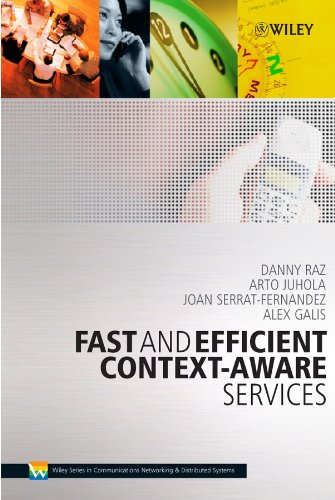9780470016688: Fast and Efficient Context-Aware Services (Wiley Series on Communications Networking & Distributed Systems)
