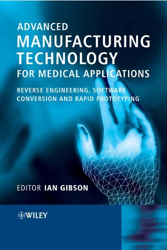 9780470016886: Advanced Manufacturing Technology for Medical Applications: Reverse Engineering, Software Conversion and Rapid Prototyping