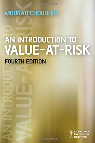 9780470017579: An Introduction to Value-at-Risk (Securities Institute)