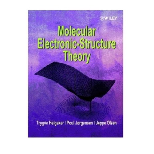 9780470017609: Molecular Electronic-Structure Theory