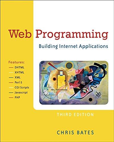 9780470017753: Web Programming: Building Internet Applications
