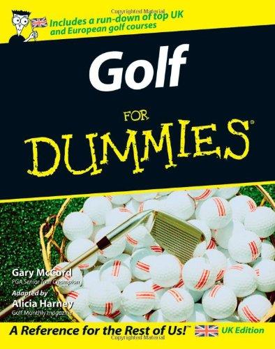 9780470018118: Golf For Dummies
