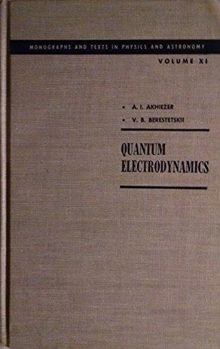 9780470018484: QUANTUM ELECTRODYNAMICS.