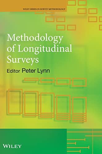9780470018712: Methodology of Longitudinal Surveys