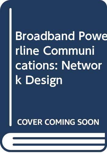 9780470020920: Broadband Powerline Communications: Network Design