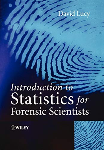 9780470022016: Introduction to Statistics for Forensic Scientists