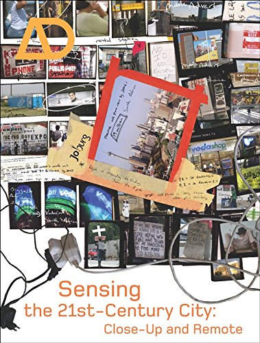 9780470024188: Sensing the 21st Century City: The Net City Close-up and Remote (Architectural Design)