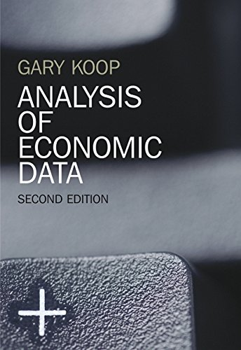 9780470024683: Analysis of Economic Data