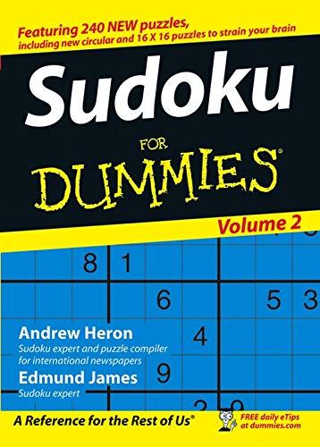 9780470026519: Sudoku For Dummies, Volume 2
