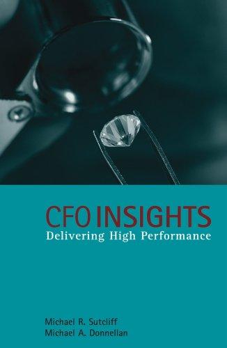 9780470026960: CFO Insights: Delivering High Performance