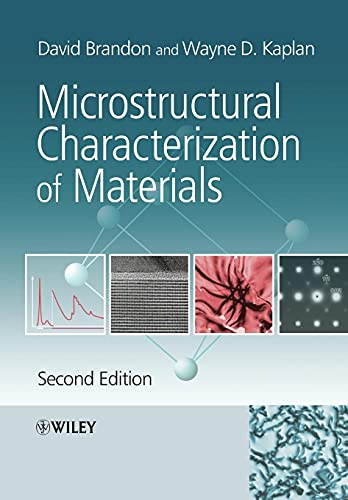 9780470027851: Microstructural Characterization of Materials, 2nd Edition