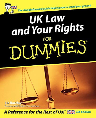 9780470027967: Uk Law and Your Rights for Dummies
