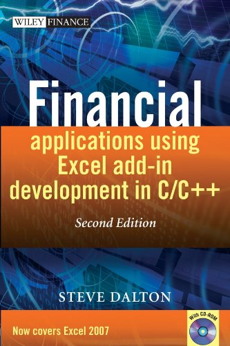 9780470027974: Financial Applications Using Excel Add-in Development in C/C++