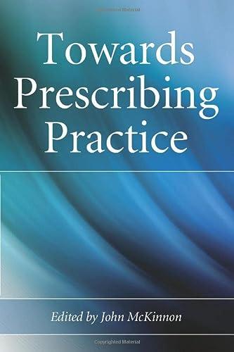 9780470028438: Towards Prescribing Practice