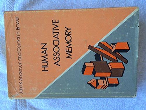 9780470028926: Human Associative Memory (The Experimental psychology series)