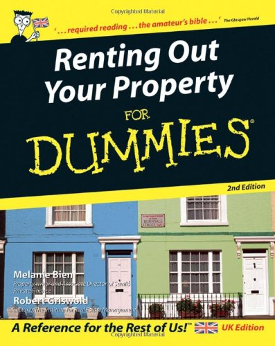 9780470029213: Renting Out Your Property For Dummies