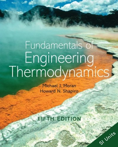 9780470030370: Fundamentals of Engineering Thermodynamics: SI Version