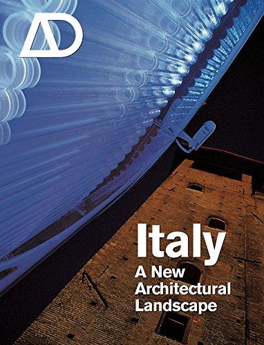9780470031896: Italy: A New Architectural Landscape (Architectural Design)