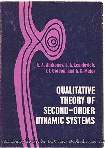 9780470031957: Qualitative theory of second-order dynamic systems
