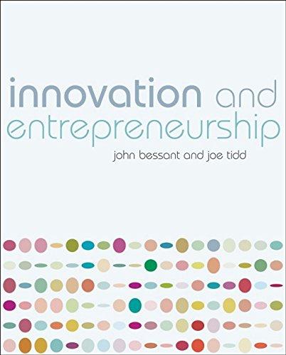 9780470032695: Innovation and Entrepreneurship