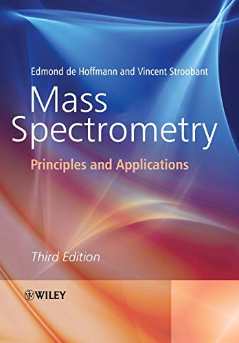 9780470033111: Mass Spectrometry: Principles and Applications