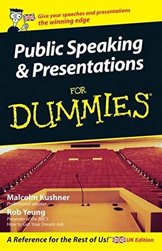 9780470034729: Public Speaking and Presentations For Dummies